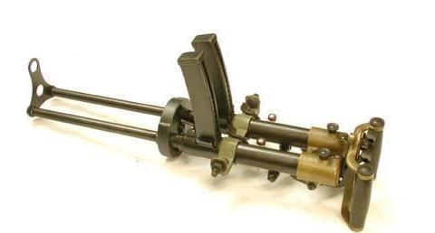 不是只有日本冲锋枪才上刺刀,意大利贝瑞塔1918表示不服