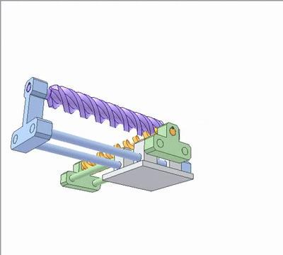 涡轮蜗杆的原理动态图,机械工程师的最爱