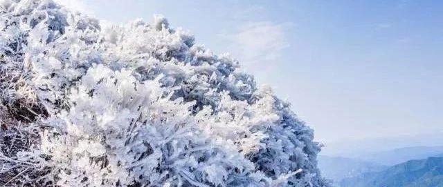 """晴,但冷!广东这里出现""""雪域高原"""""""