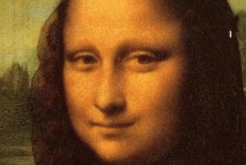 蒙娜丽莎真的在微笑吗?难道你们从来没有倒过来看?