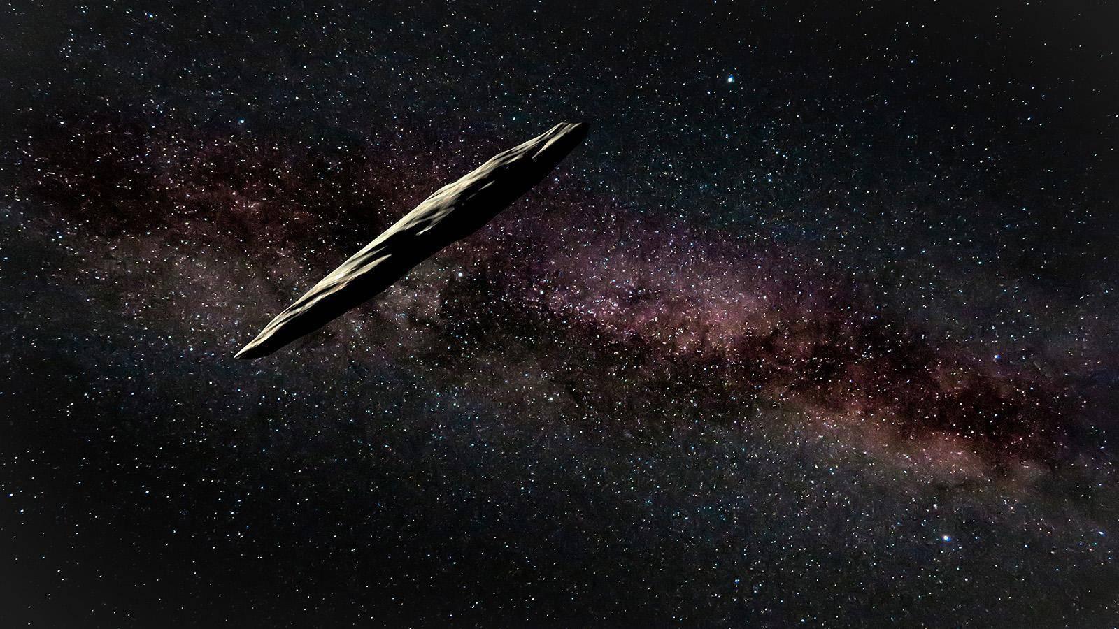"NASA:谜一样的天体""奥陌陌""出乎意料地开始在太阳系里""放屁"