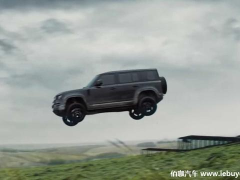 全新路虎卫士在新视频宣传中呈现飞跃特技和速度越野能力