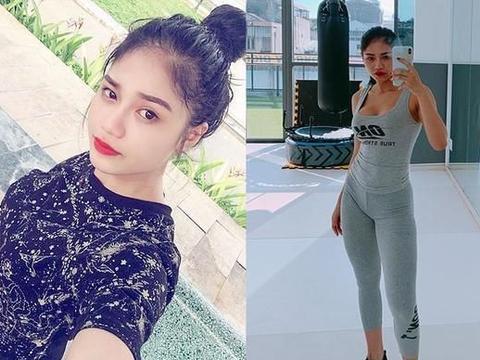 越南姑娘从小清新练成女汉子,健身增重30斤,嫁人只考虑肌肉男