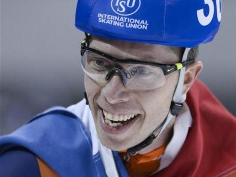 速度滑冰单项世锦赛:男子集体出发赛况