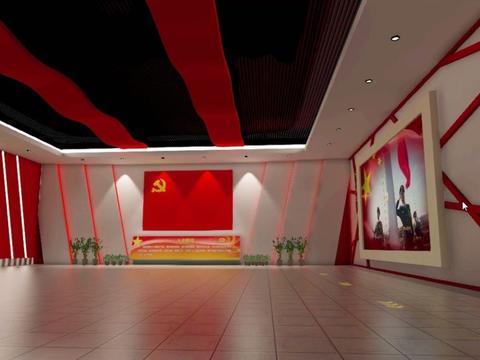 VR红色党建教育展厅,让党员铭记历史故事