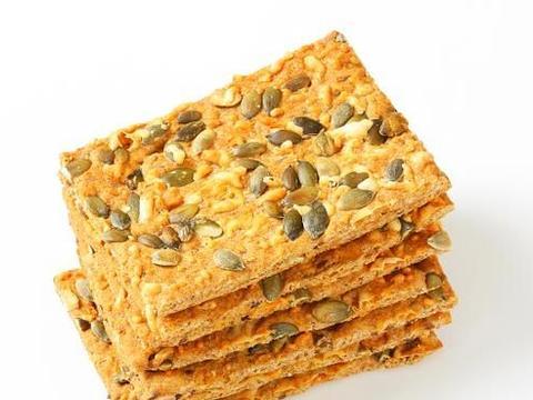 酥脆的南瓜子饼干,大人小孩儿都爱吃,家中必备零食!