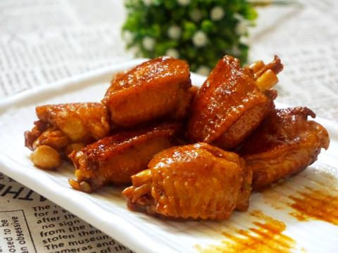 一份鸡翅新吃法,非常的美味,而且颜值颇高