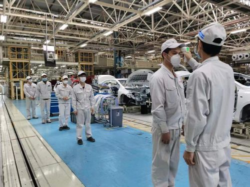 广汽集团旗下企业陆续恢复生产