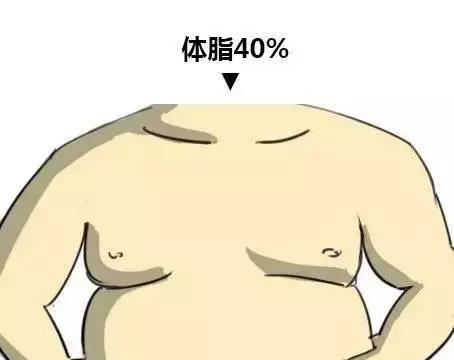 2020身材对照图,测测你的体脂率是多少?