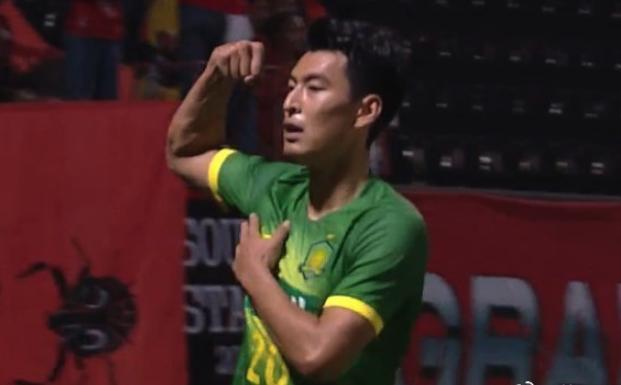 23岁前锋一箭穿心!国安1-0赢了,因2张黄牌屈居小组第2
