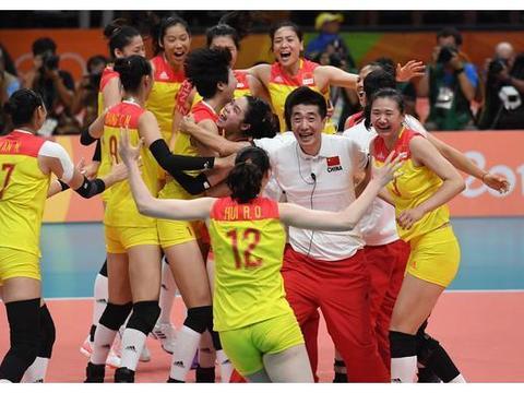 中国女排12位冠军4人已淡出!对比东京和里约赛程,并非死亡小组