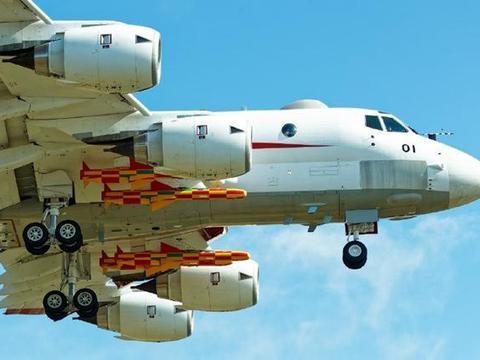 日本隐藏了多少实力?国产飞机满挂导弹飞行,专打水下战略核潜艇