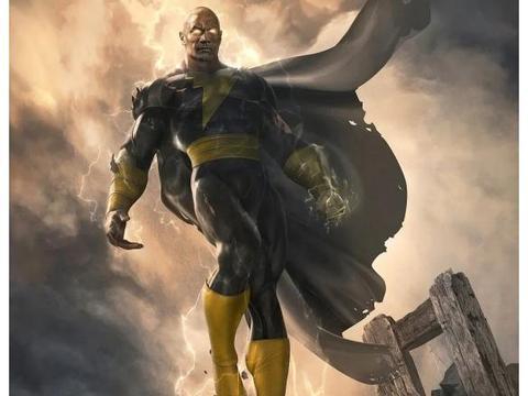 巨石强森晒《黑亚当》健身照 DC的力量体系要变天了