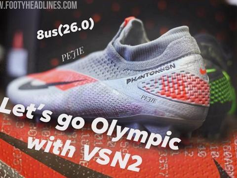 "Nike Phantom VSN 2 ""Olympics Pack""足球鞋曝光"