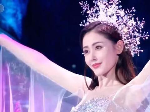 张天爱登上央视春晚,当她出场的那一刻,全场都被惊艳了!