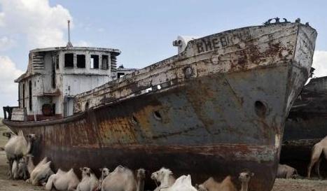 """全球最""""固执""""的国家:地处内陆偏偏要建海军,船舰今成养殖场"""