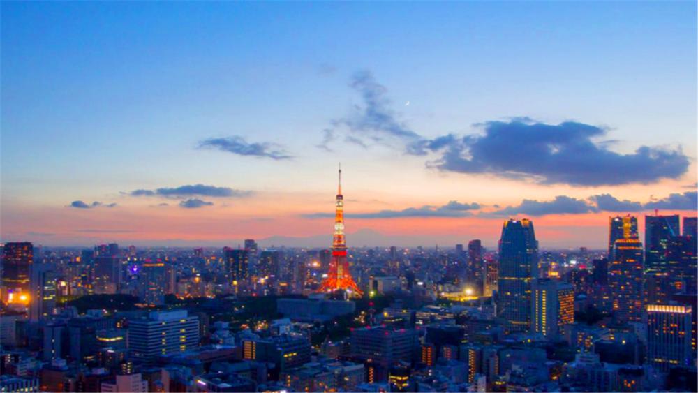 日本东京城市规模大,比北京上海都大,关键人多还不堵车