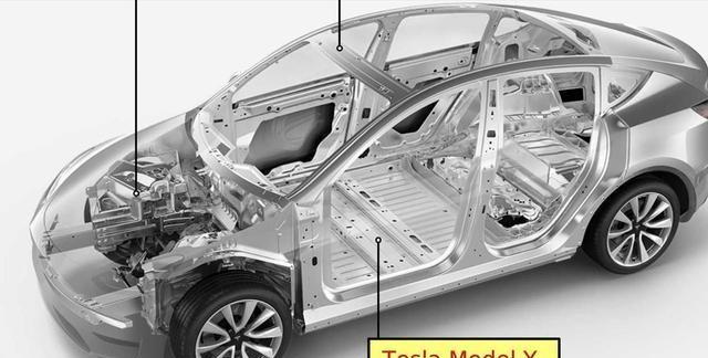 从70个零件减少到1个,Model Y车身将改为整体铸件,考虑过修吗