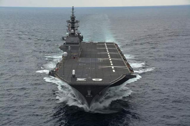 出云级准航母改装很激进,电磁弹射器上舰,能够使用F-35C舰载机