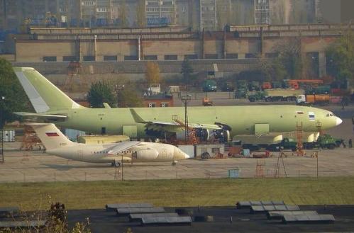 俄军对新款伊尔78仍不满意,又搞出更大的伊尔96加油机