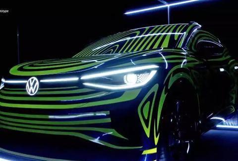 大众全新电动SUV竟然长这样!网友:这不是别克昂科拉吗?