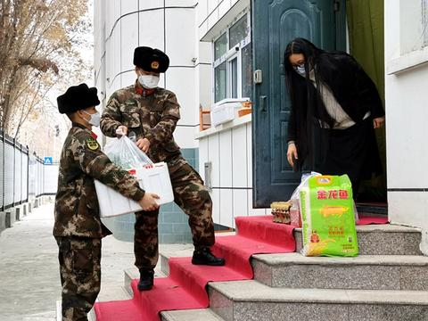 武警兵团总队执勤第五支队:暖心服务助力居家官兵家属安心隔离