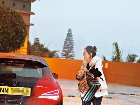 组图:唐咏诗马国明连日低调约见 男方称只是顺路接送