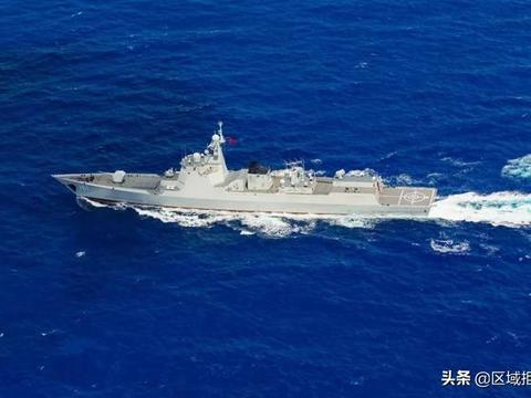 052D型驱逐舰自由航行,率队接近夏威夷,美国这次无话可说了