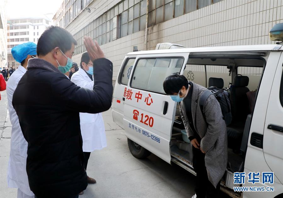 云南腾冲:又一名新冠肺炎治愈患者出院