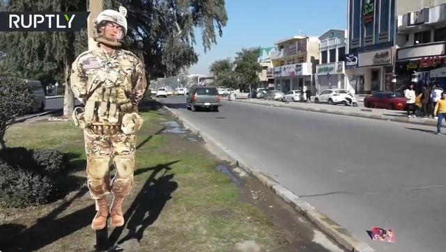 """伊拉克人彻底觉醒?为纪念伊朗将军,他们将""""特朗普""""送上绞刑架"""