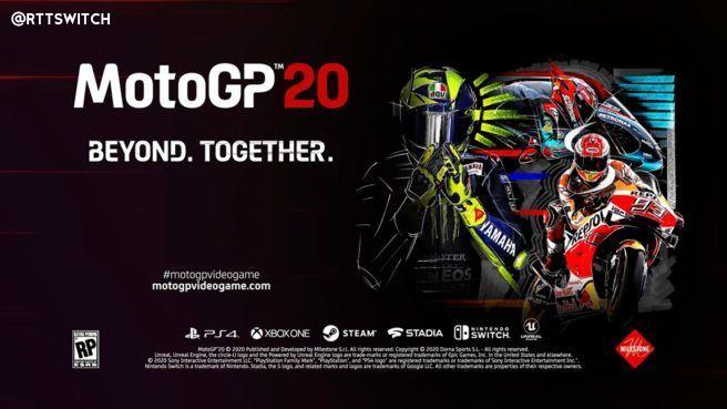 年货系列《MotoGP20》4月23日登陆Switch