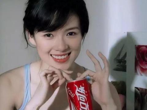 章子怡为可口可乐拍广告,林青霞抱4岁徐若瑄这些老照片见过吗?