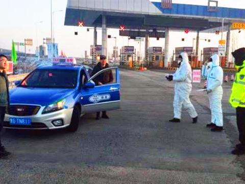 黑龙江林口县公安交警大队党员抗疫一线打头阵