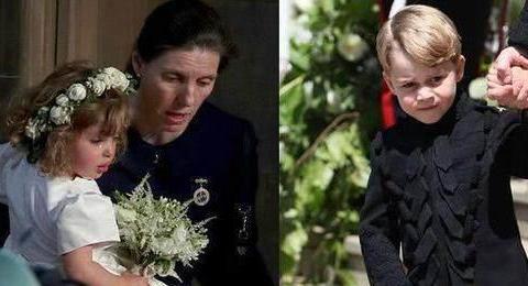 才5岁就是个暖男,乔治小王子在叔叔婚礼安慰花童被赞是撩妹高手