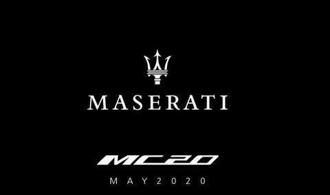 定名 MC20,玛莎拉蒂全新超级跑车 5 月亮相