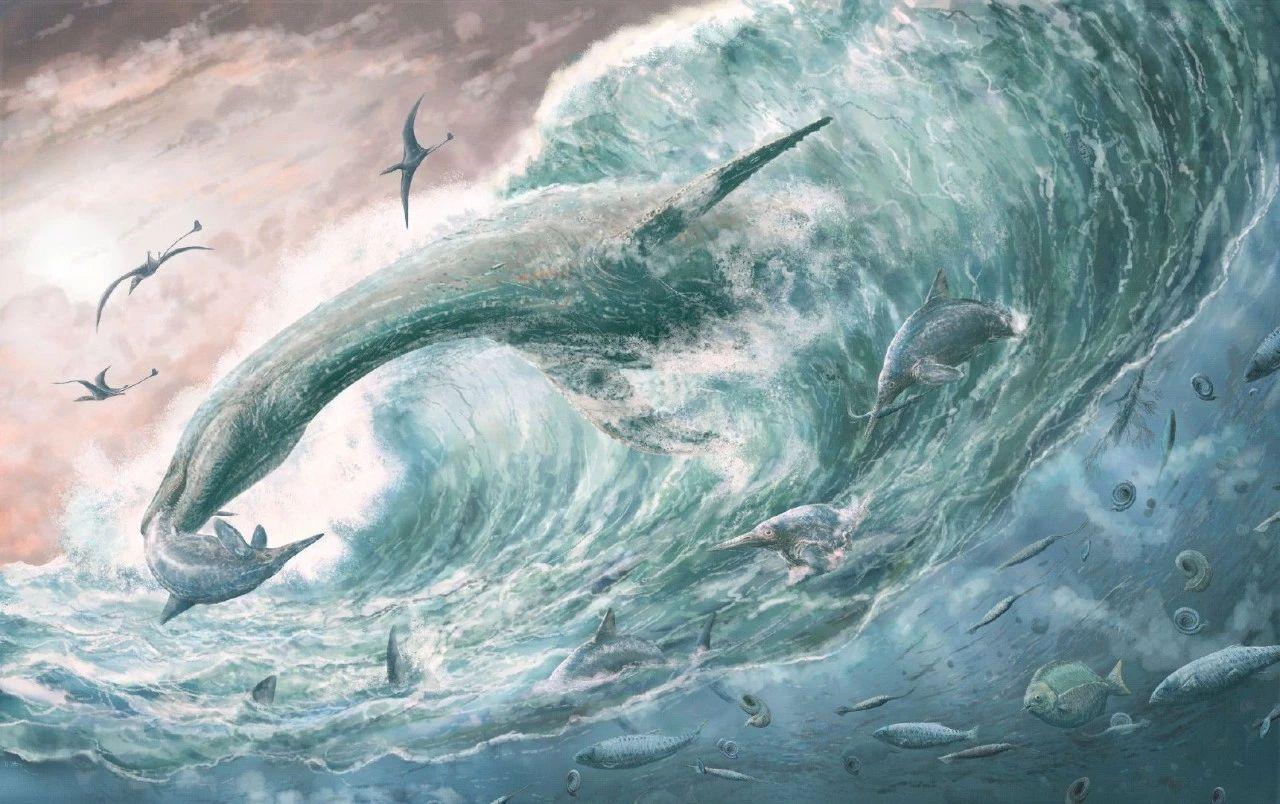 侏罗纪初代海王竟然是短脖子的蛇颈龙
