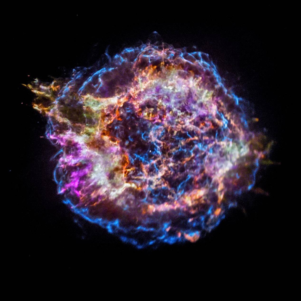 """史无前例!天文学家发现一颗前所未闻的巨大""""怪物""""超新星"""