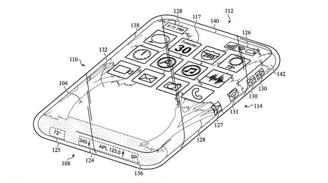 """苹果新专利曝光:环绕式""""多""""触摸屏的全玻璃iPhone"""