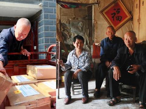 61岁老汉为完成儿子遗愿,用电脑做电商,把家乡特产远销各地