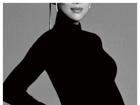 章子怡挺孕肚拍封面大片,产前一周拍摄令人服气,汪峰娶了什么宝