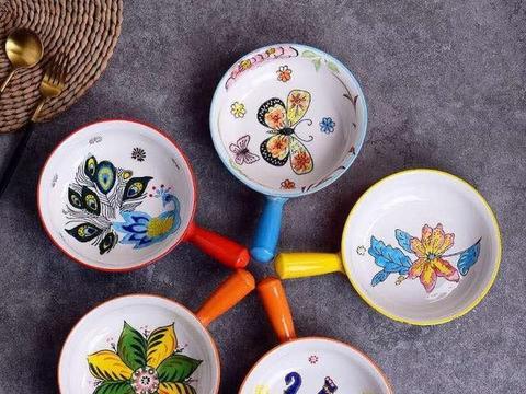 颜值控 ins风手绘陶瓷麦片碗 潮州市枫溪区泓韵陶瓷有限公司