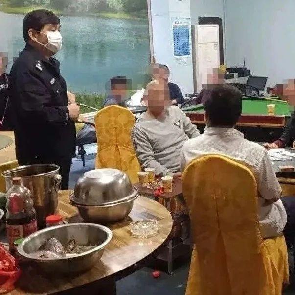 海口一水吧20余人聚餐,店主被行政拘留10日
