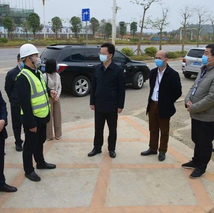中建八局广西分公司崇左城南商业综合体项目即将全面复工