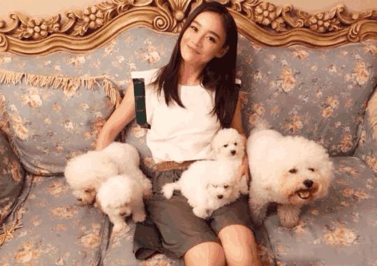 被骂滚出娱乐圈的袁姗姗,豪宅装修却是元气满满的少女风