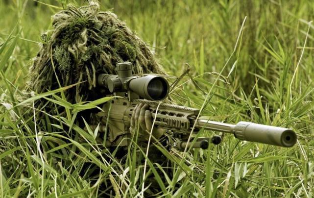 6秒钟找出狙击手藏在哪里?说明你的视力也能当狙击手!