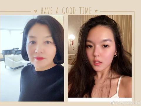 李咏女儿晒近照成熟性感野性十足,化烟熏妆眼神凌厉眉毛粗得惊人