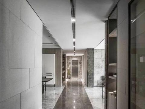 超大别墅现代化装修,华丽硬装极简软装