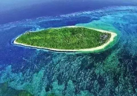 中国的马尔代夫,有着中国最纯净的岛屿之称,能见度达到40米