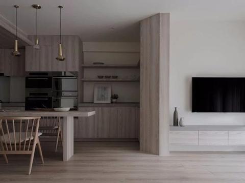 黑白灰MUJI风装修,造型像国外的房子