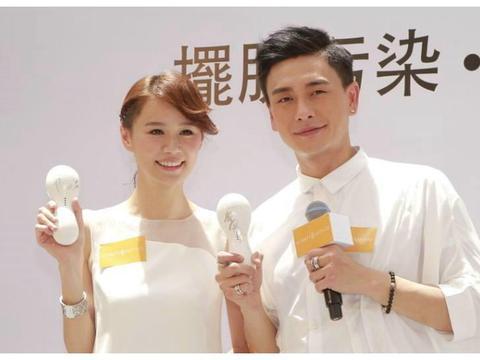TVB小花曾自曝是黄宗泽女友,今带绯闻男友一起抢厕纸
